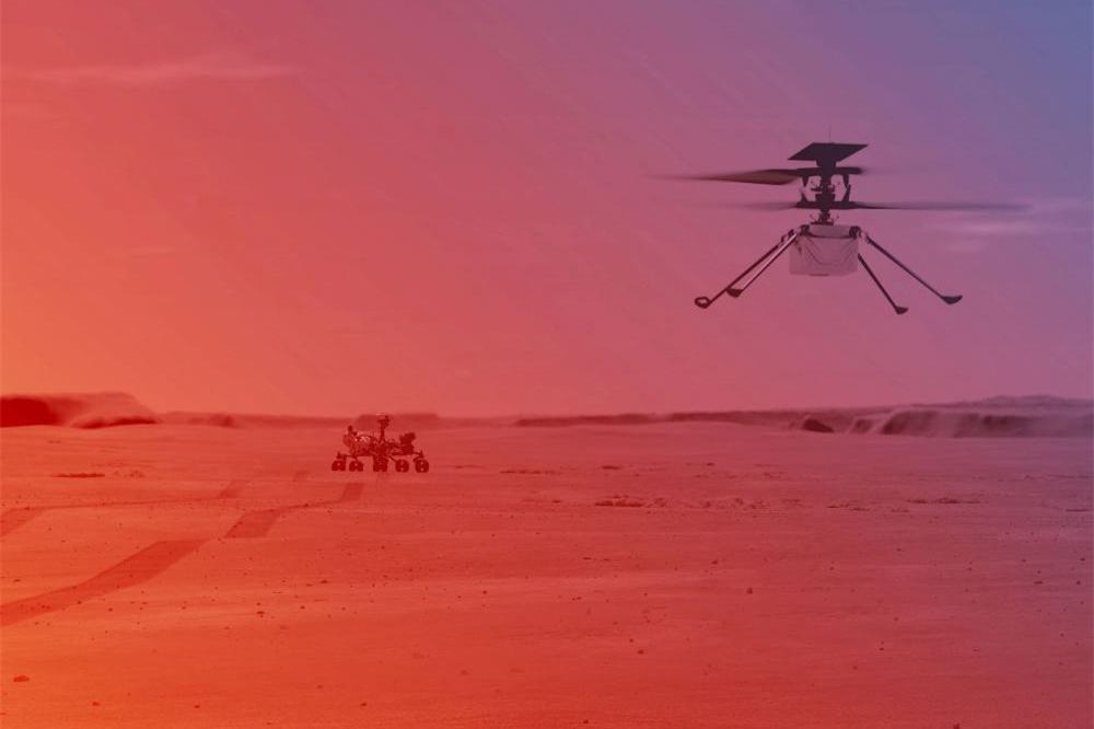 毅力号火星车传回新画面