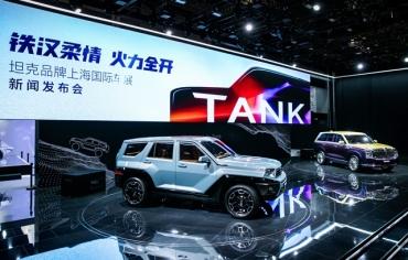 坦克品牌全球发布 颠覆越野传统认知