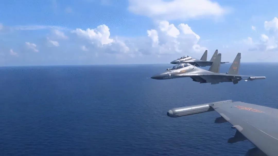 霸气驱离外机的空军部队有多牛?