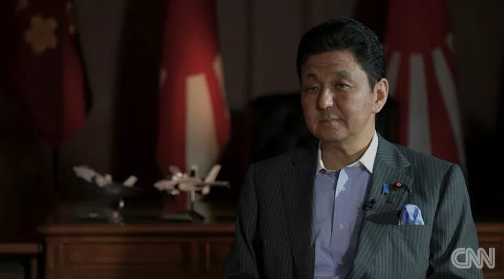 """日防相:会对中国""""以舰还舰"""""""